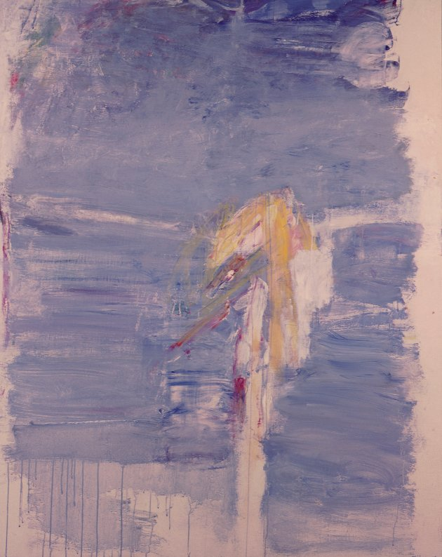 ALENE: Maleri av Jakob Weidemann: Alene, 1965 © Jakob Weidemann / BONO 2020
