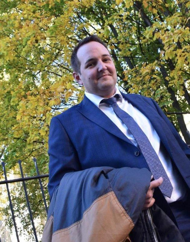 KAMPKLAR: Søndag bekjentgjorde Gisle Meininger Saudland (Frp) fra Flekkefjord at han søker renominasjon for fire nye år på Stortinget.