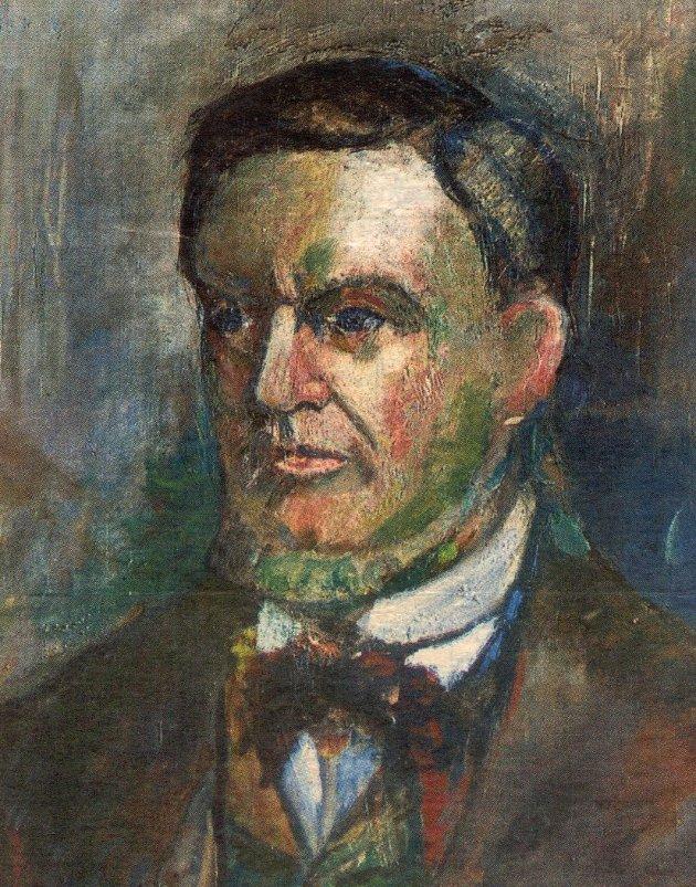 Portrett av Hauge i Elverhøy kirke, Tromsø