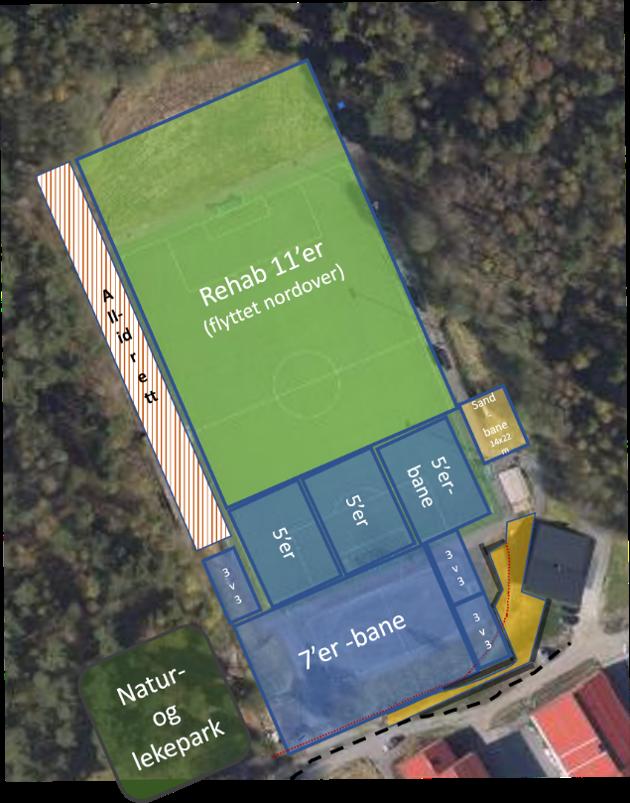 Plan for nye Manglerud Idrettpark