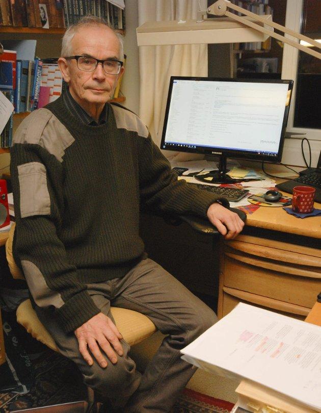 ER FORUNDRET: Steinar Pedersen er forundret over at Norsk ornitologisk forening kaster ut påstander uten underbygging.
