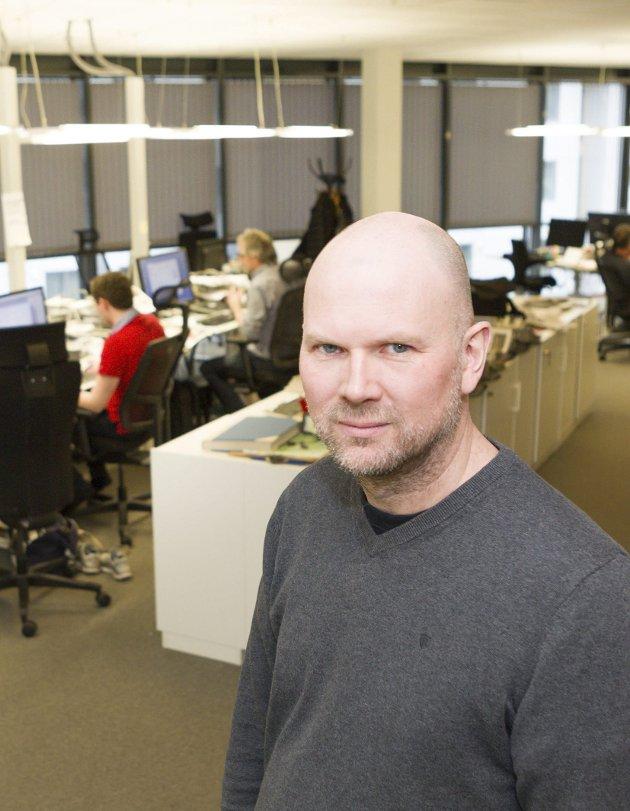 Media: En fri presse går ikke ut på dato, insisterer redaktør Thor Sørum-Johansen.