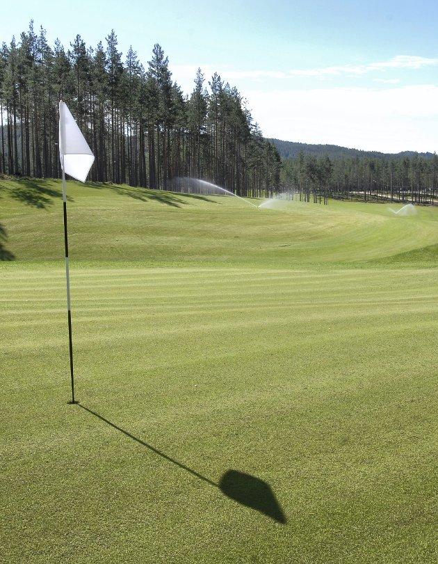 Best: Kongsvinger Golfklubbs bane på Liermoen er kåret til landets beste.