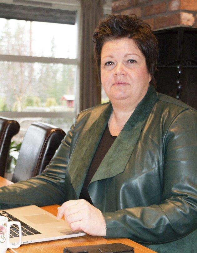 Slutt: Gruppeleder Marthe Melby (H) er skuffet over samarbeidet med Ap og redegjør her mer for hvordan hennes parti Høyre, sammen med Frp og Venstre, har oppfattet den såkalte varslersaken.