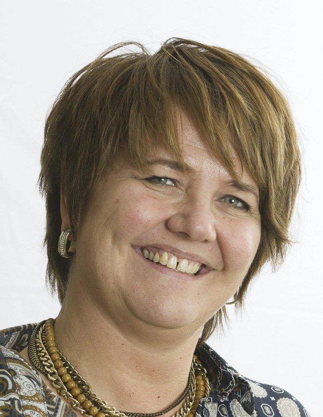LEDER: Anita Madshus leder Grue Høyre.