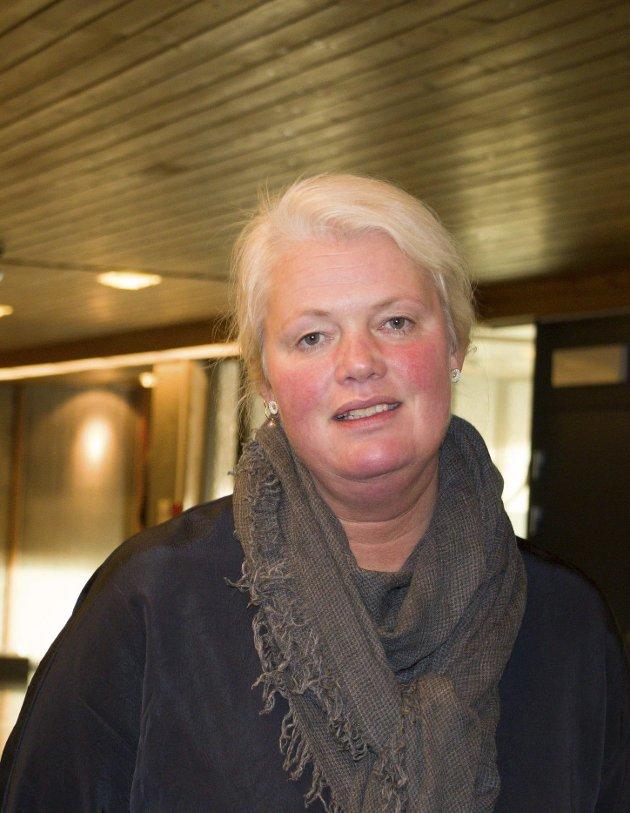 STOPP: Aasa Gjestvang har stoppet bevilgningen til Skarnes videregående skole.