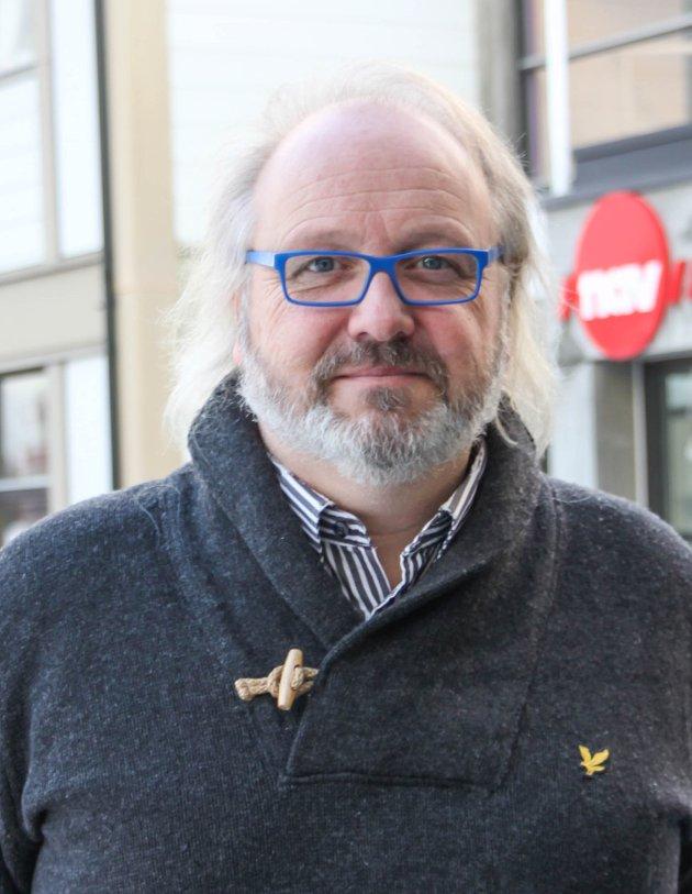 BREMSER: Nord-Odals rådmann Runar Kristiansen setter alle bremser på.