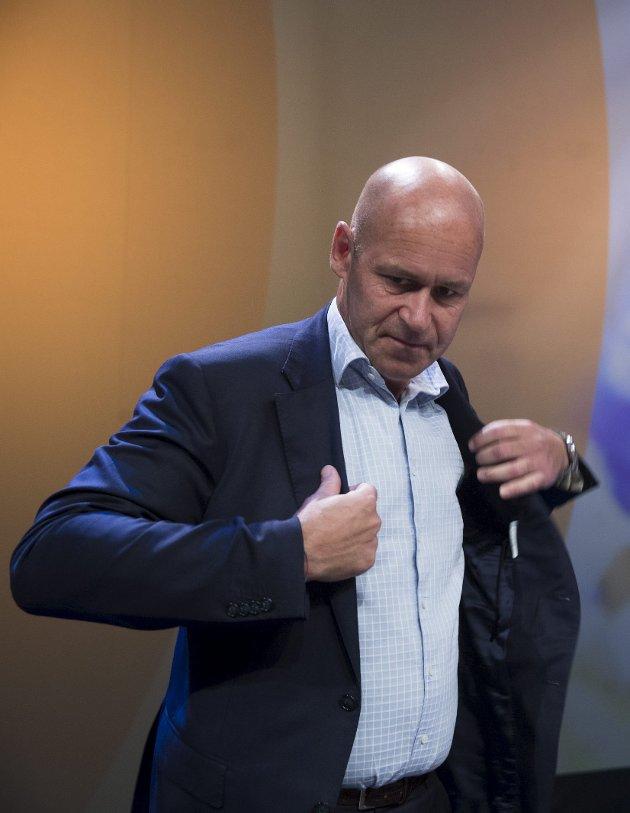 TYDELIG: Budskapet fra Ahus-direktør Øystein Mæland er godt nytt for Kongsvinger.
