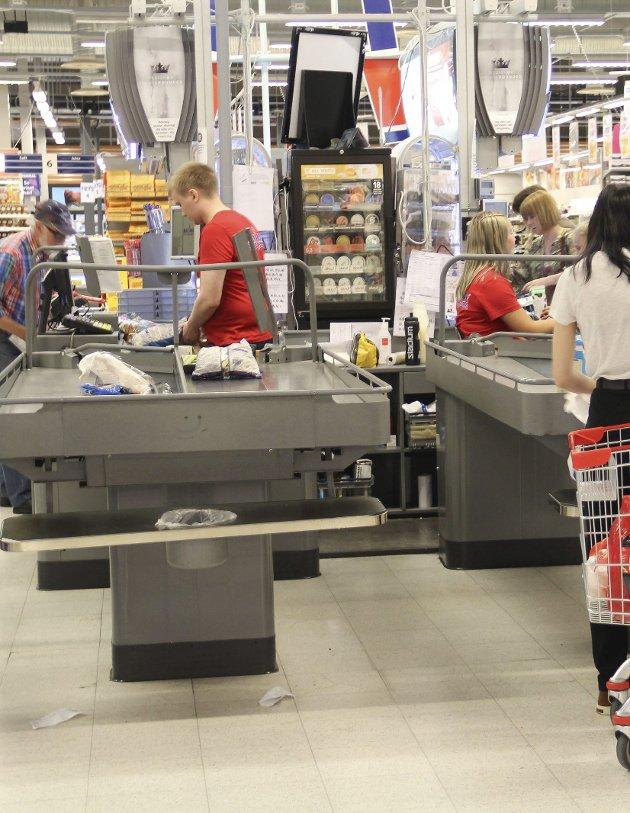 TAPER ARBEIDSPLASS: – Grensehandelen gjør at man mister arbeidsoplasser på norsk side av grensen, mener Norsk Nærings- og Nytelsesmiddelarbeiderforbund.