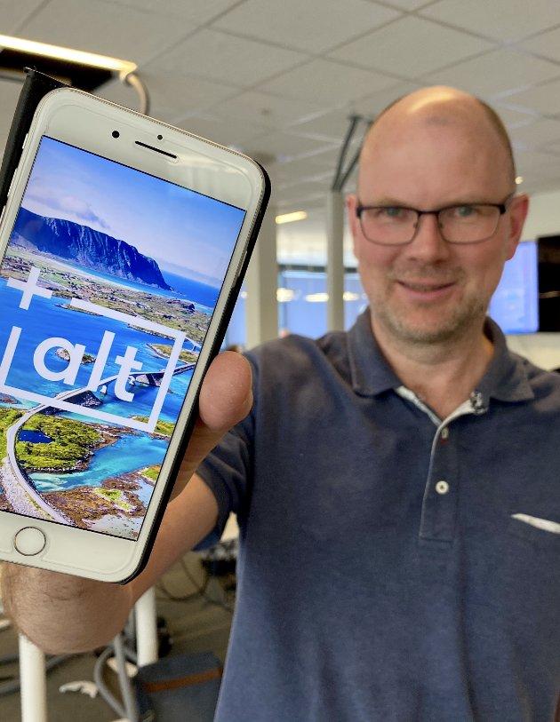 VOKSER: +Alt har bidratt til Glåmdalens vekst, og flest leser nå avisen på mobil.