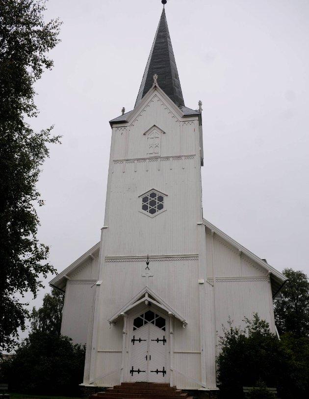 Sier nei: Den nye sognepresten sier nei til å vie homofile i Aurskog kirke.