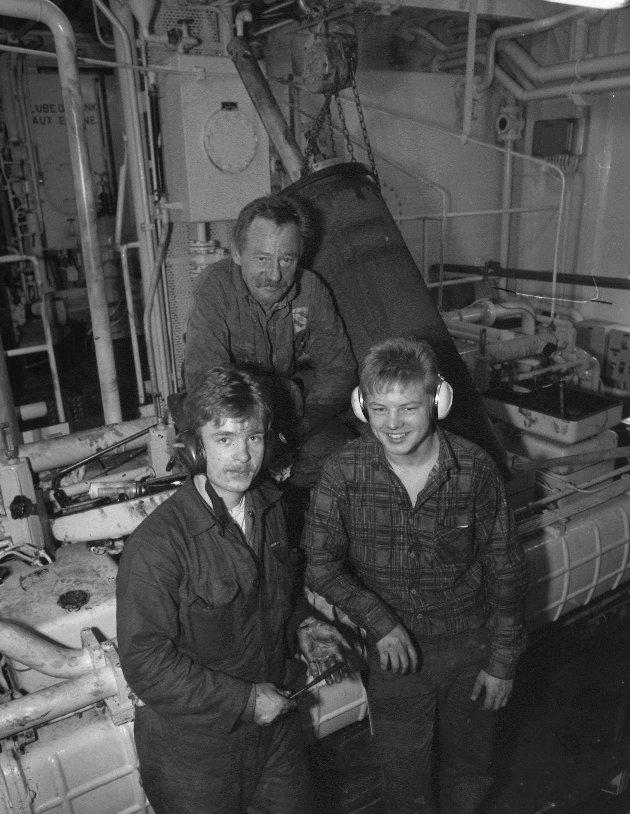 Moss rep. og montasje. Rolf Anders Klerud og Magne Ellingsen (foran). Kåre Sørensen (bak).