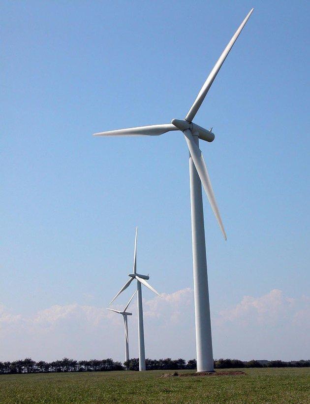 VINDMØLLER: Rødt sier nei til vindmøller.