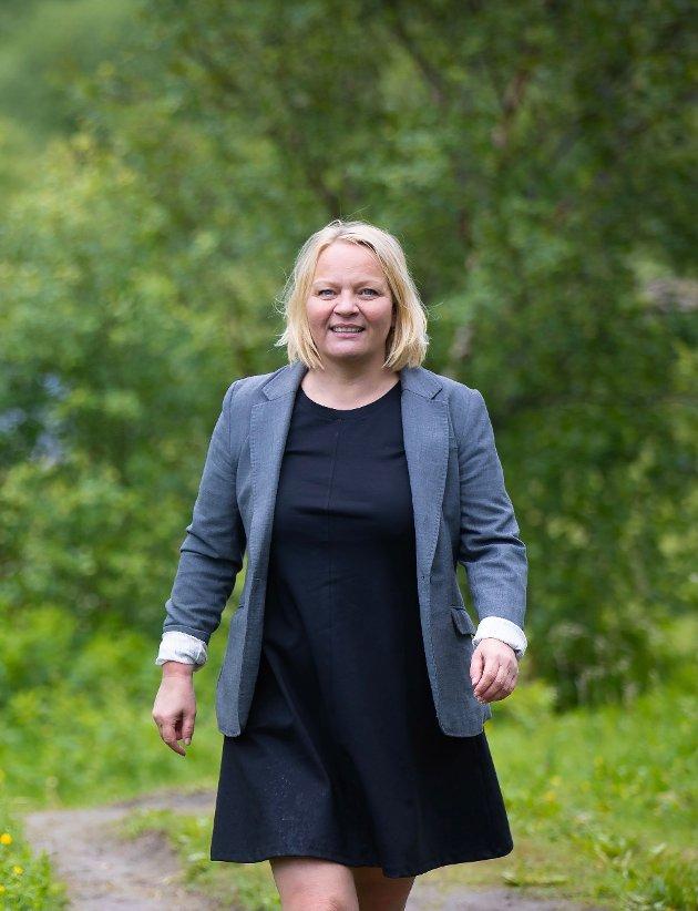 SVs stortingsrepresentant Mona Fagerås
