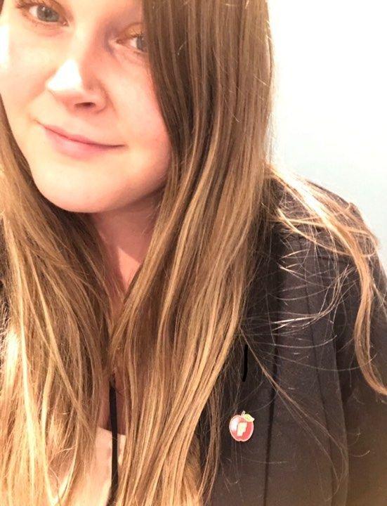 Nestformann i Innlandet FpU, Stine Jakobsen, svarer SVs Gerd Elise Storvik
