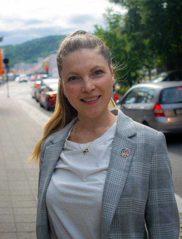Liv Marie Bendheim fra Fetsund jobber for at ingen skal miste livet i trafikken.