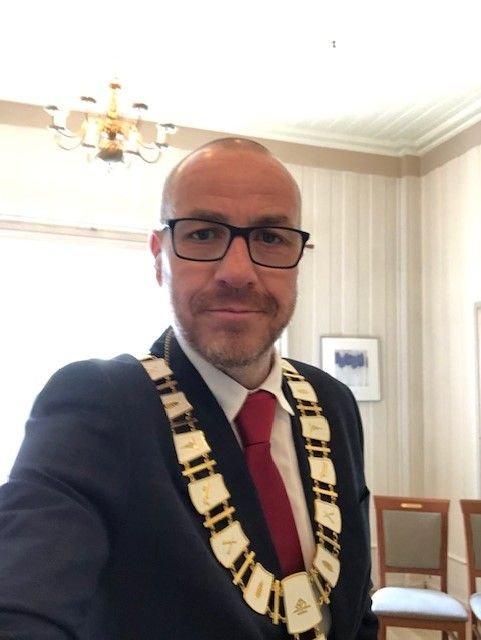 Ordfører Tom Staahle