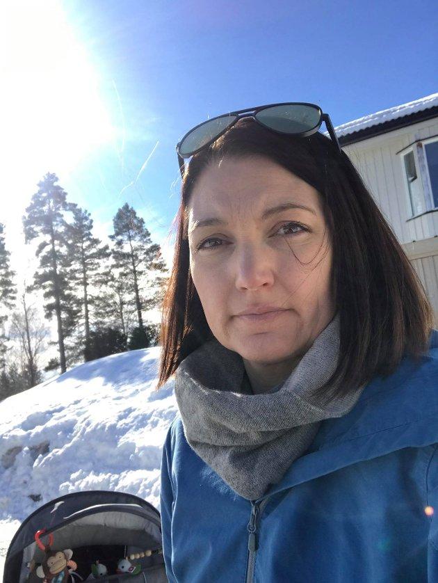 ENGASJERT: Ida Cathrine Ruud er bosatt på Rotnes - og har 2. plass på lista til Nittedal SV.