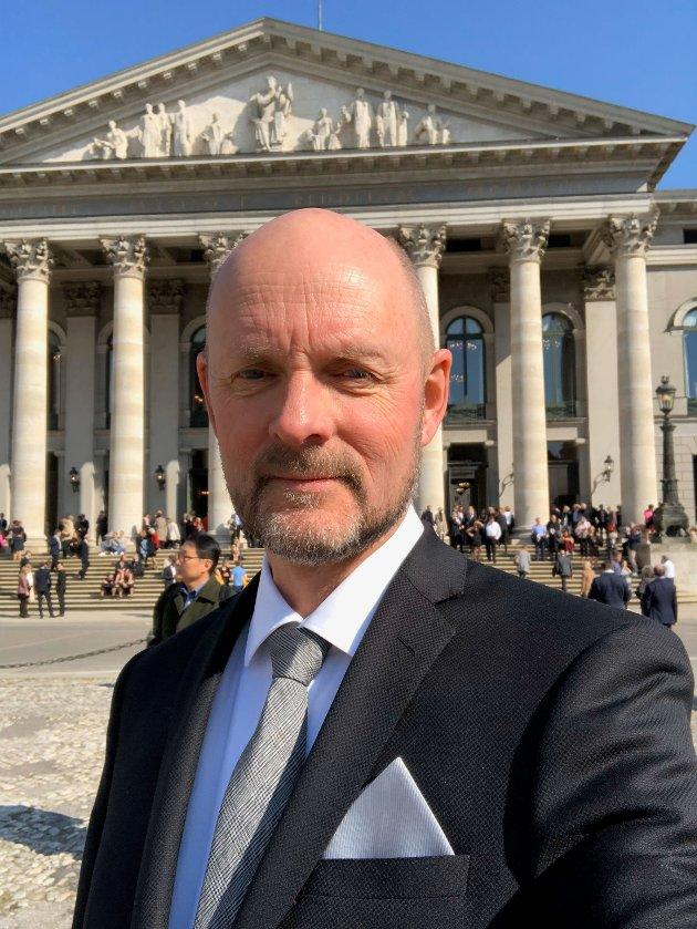 Anders Hovind, nestleder - forbundet for kunst og kultur