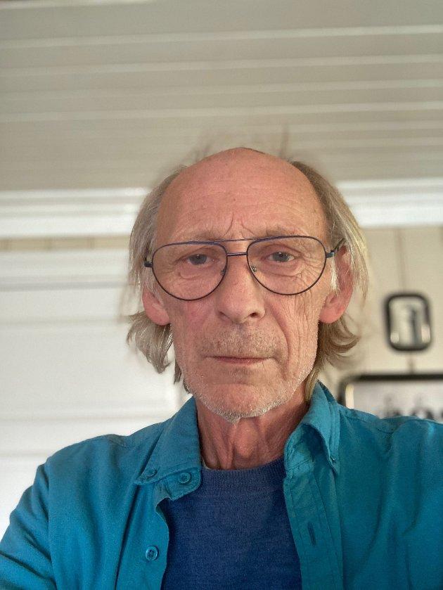 Håkon Tosterud, leder av pensjonistutvalget i Fagfrobundet Innlandet