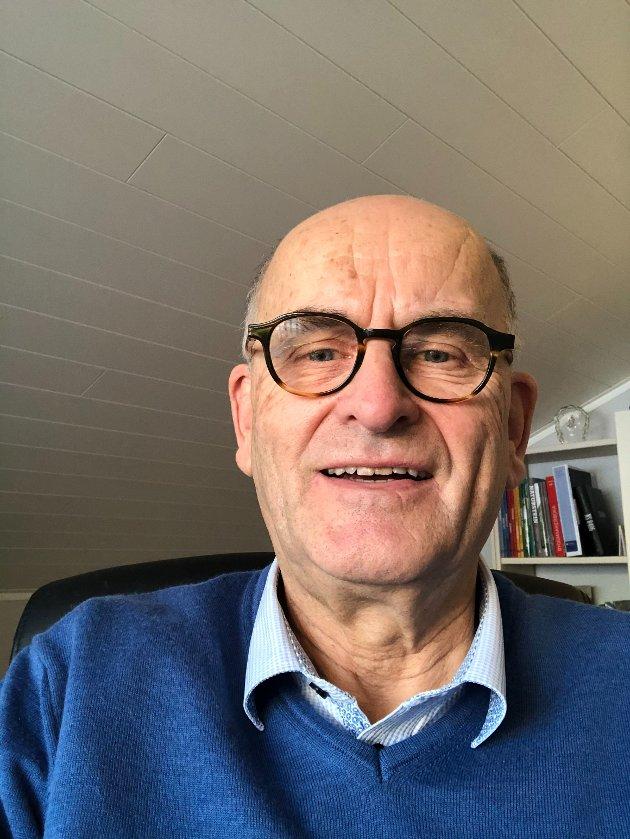 Anders Beitnes (siv.ing. sitter i ekspertgruppen E39 Romsdalsfjordtunnelen