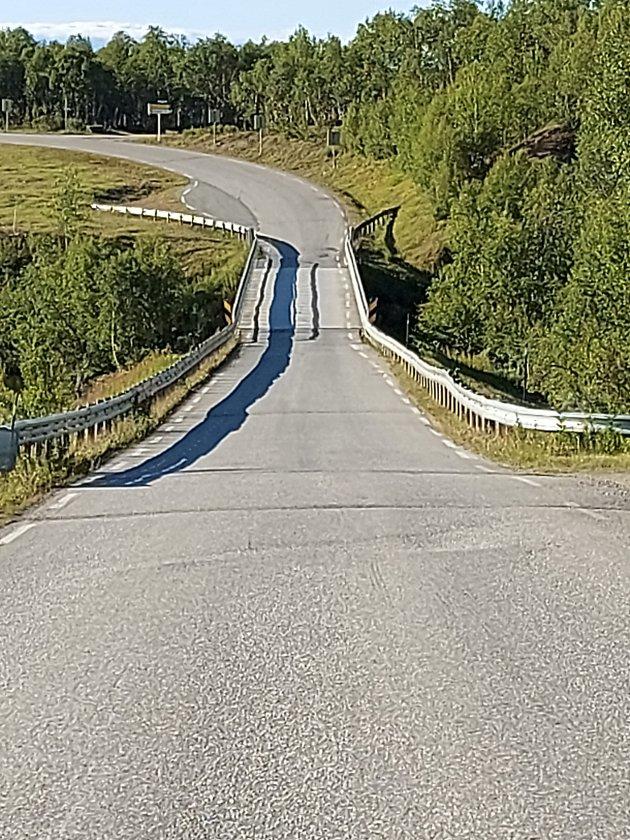 Djupabrua ved Brekken i Røros kommune.