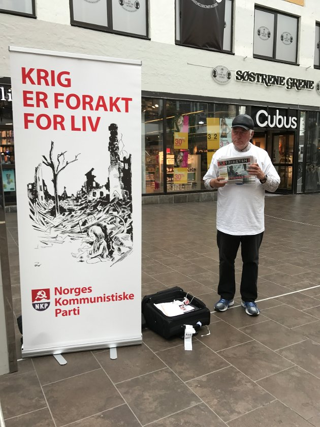 Kommunistene i Nordland er med i valgkampn, for fred og Norge ut av Nato!!