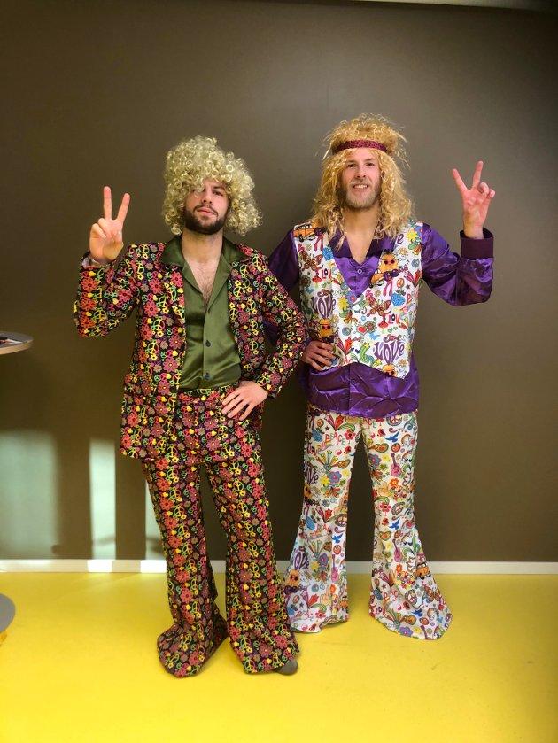 "Phillip Zinckernagel og Vegard Leikvoll Moberg ""back to the 70s"""