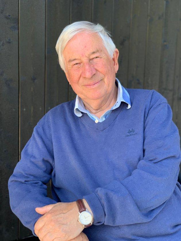 Internasjonal rådgiver Einar Sørensen som arbeider mye med luftfart i Toulouse, Frankrike