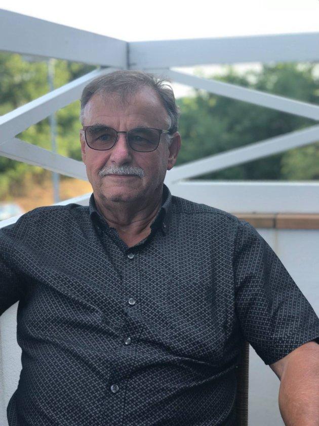 Helge Nielsen, leder i MS Eikern Venneforening