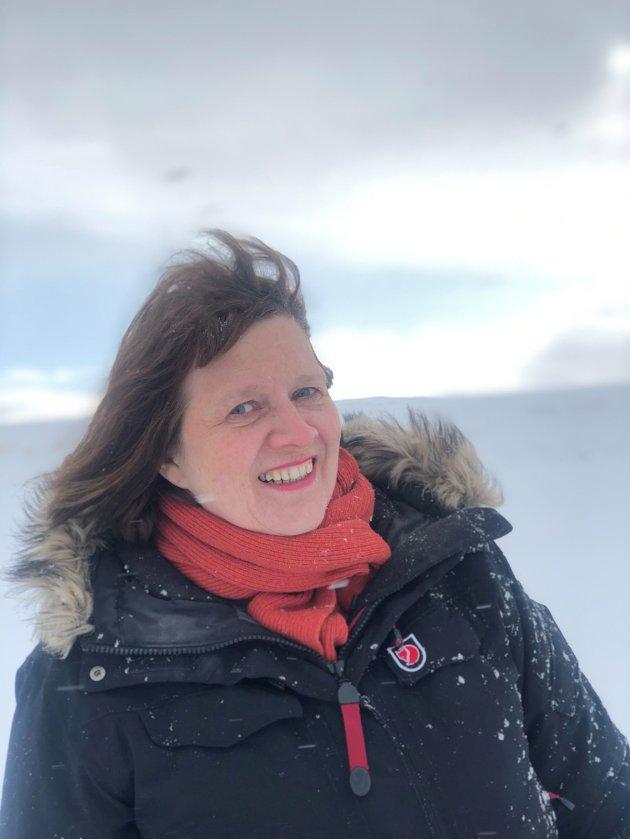 Kristina Hansen, leder i Finnmark AP