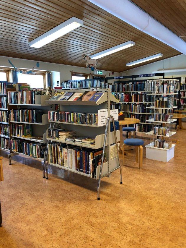 Dei fleste av oss veit om tilboda i Førde bibliotek, men her i Viksdalen er det ein del eldre og andre som ikkje køyrer bil, skriv Åsta Hoff Hatlestad.