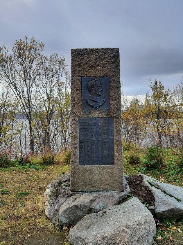 General Fleischer i Narvik.