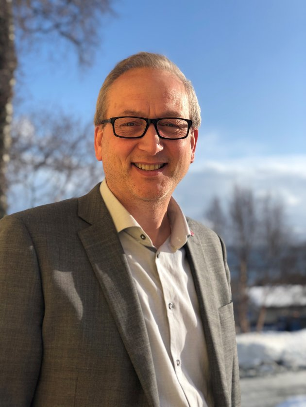 Terje Bartholsen, ordfører i Evenes kommune