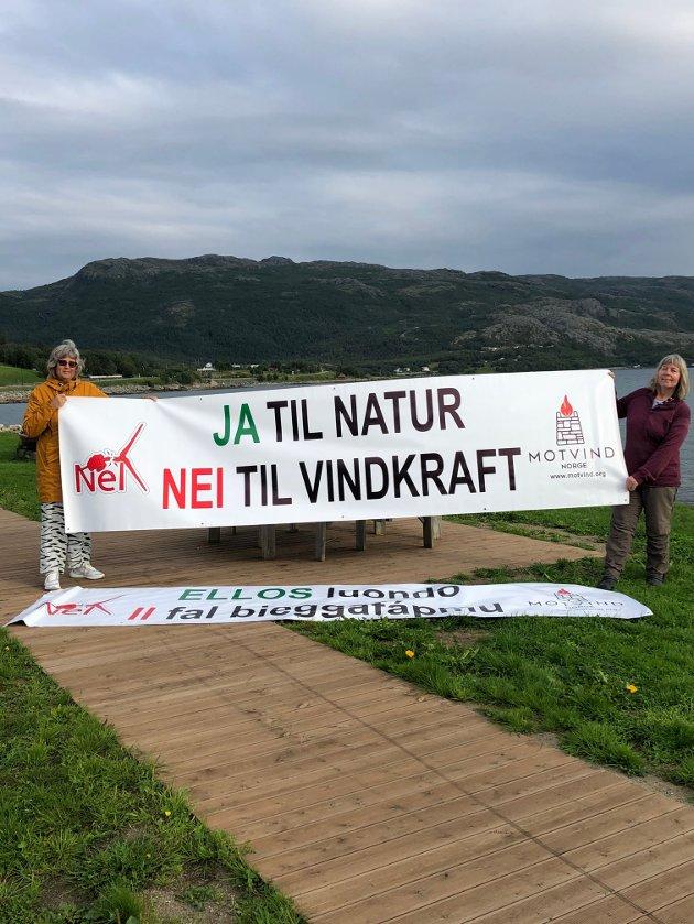 Banneraksjon i Bjerkvik