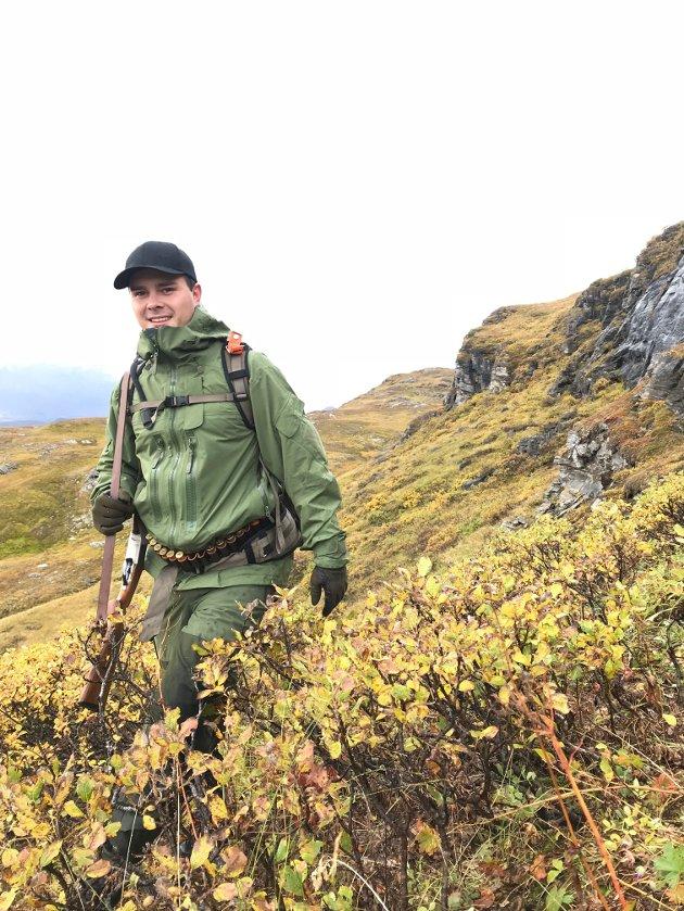 TILBAKEFLYTTET NARVIKING: Andreas Kolbeinsen føler for å si ifra