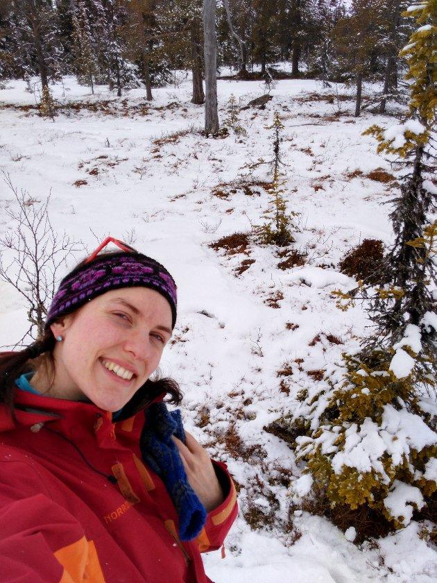 Maren Kurdøl, førstekandidat i Rødt, mener alle som er glade i naturen bør tenke gjennom naturvern ved årets valg