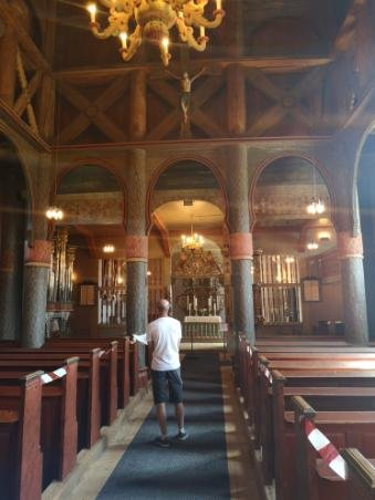 Vakre Ringebu stavkirke.