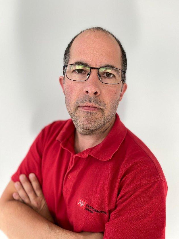 Jon-Inge Hagebakken, nestleder Fagforbundet Innlandet