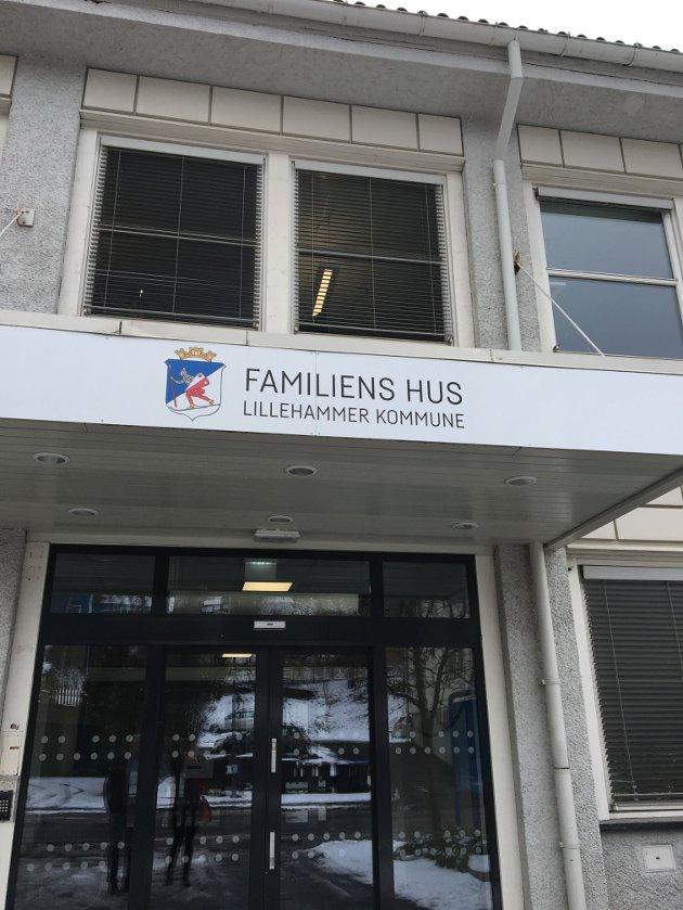 """Barnevernet på Lillehammer lever sitt eget liv i """"Familiens hus""""."""