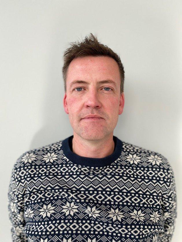 Alexander Dahl, leder yrkesseksjon Kirke, Kultur og Oppvekst, Fagforbundet Innlandet