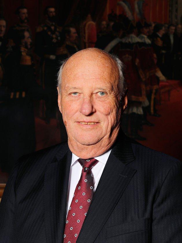 Hans Majestet Kong Harald, fotografert i anledning 80-årsdagen 21. februar 2017.
