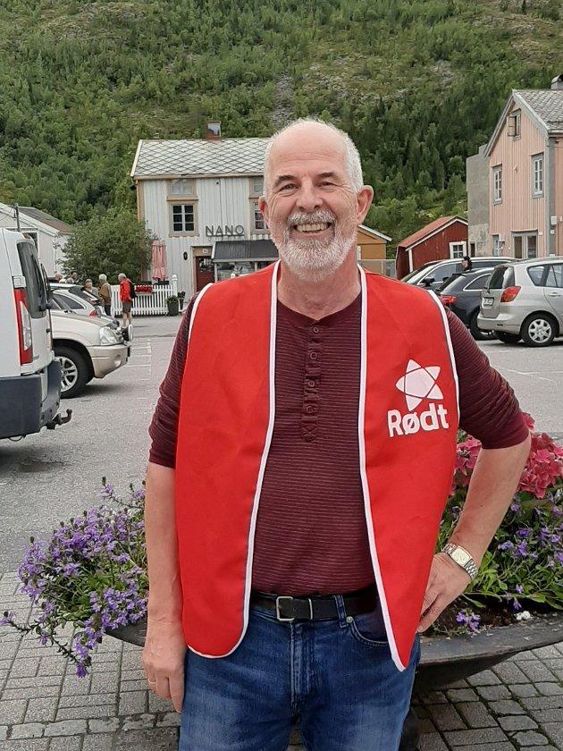 Gunnvald Lindset, 1. kandidat for Rødt i kommunestyrevalget