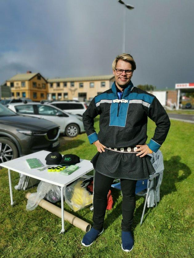 Jon-Christer Mudenia, 2. kandidat i Østre valgkrets for Árja
