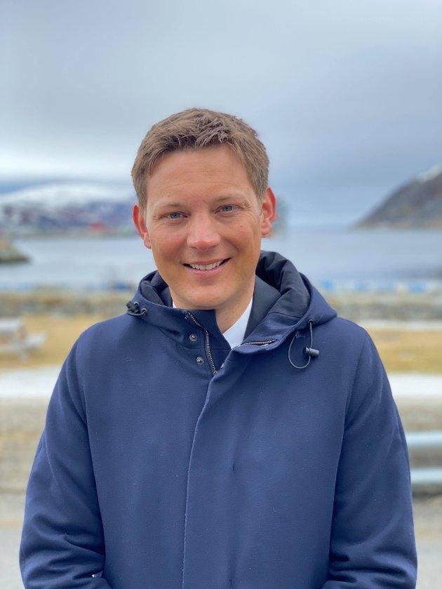 VIL HA SATSING: Sigurd K. Rafaelsen, 3.kandidat Finnmark Arbeiderparti Stortingsvalget