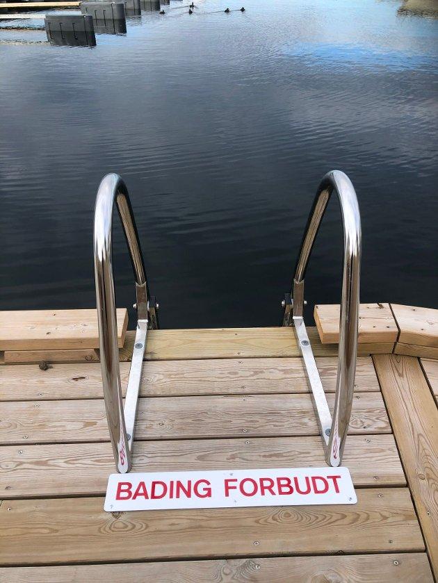 Bading forbudt