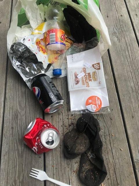 Torsdagens søppel.