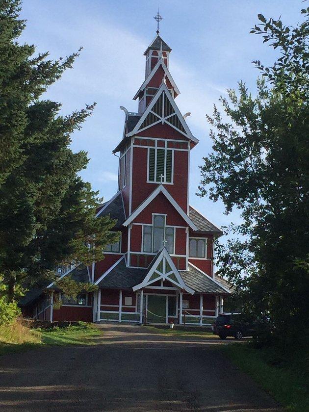 Buksnes kyrkje, Vestvågøy