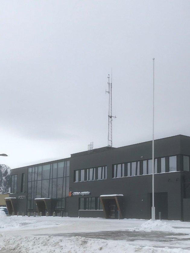 Svolvær politstasjonen 21.februar 2021.