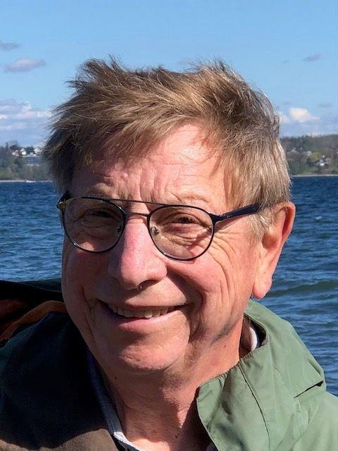 Forfatteren ved Oslofjorden